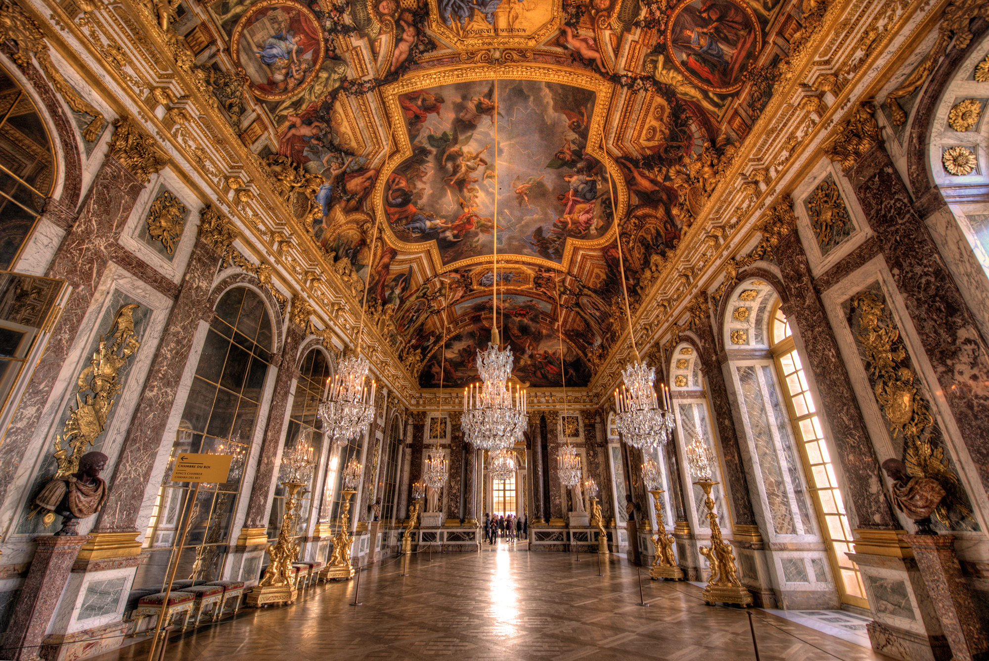 Grand Foyer Definition : Versailles hall of mirrors travel caffeine