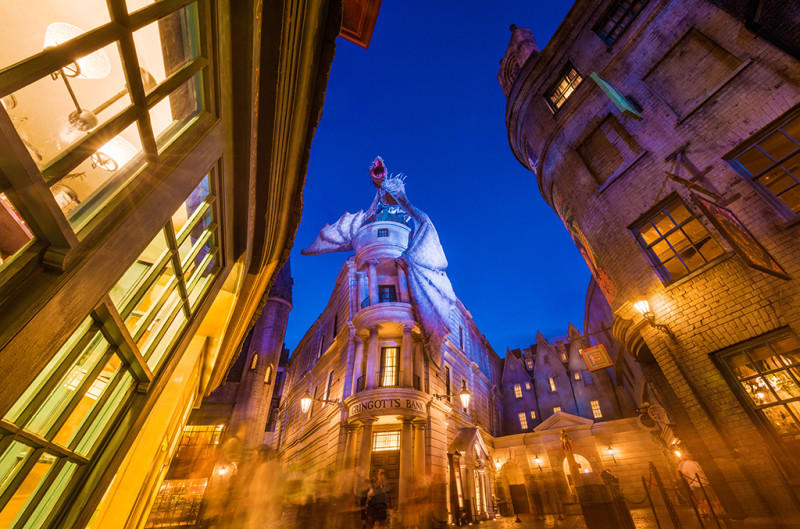 diagon-alley-blue-hour-converging-lines