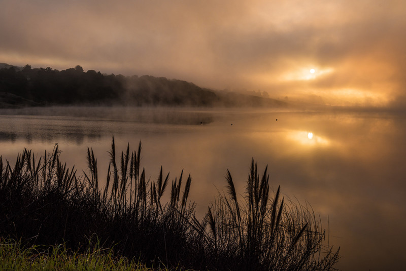 Crystal-Springs-Reservoir-Santa-Cruz-Mountains-sunrise-2