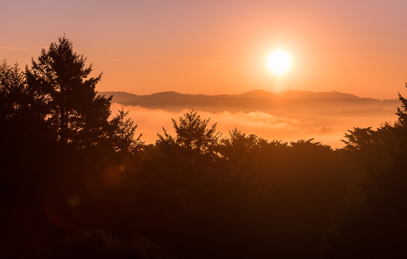 Santa-Cruz-Mountains-sunrise