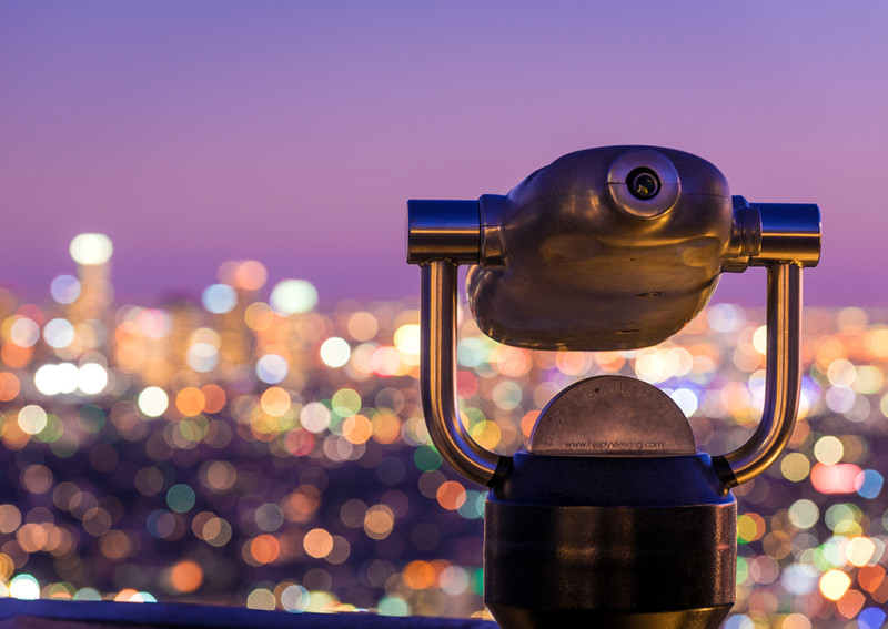 los-angeles-bokeh-griffith-observatory