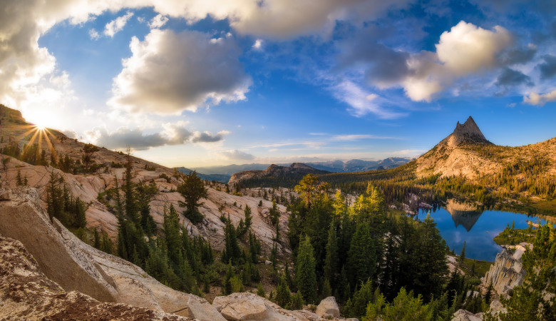 sunburst-yosemite-national-park-upper-cathedral-lake