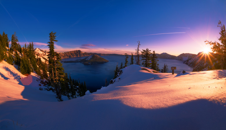 crater-lake-national-park-sunrise-winter-snow-discovery-point-sunburst-bricker copy