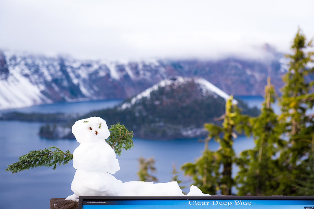 more photos 66900 9fb15 Winter in Crater Lake National Park - Travel Caffeine