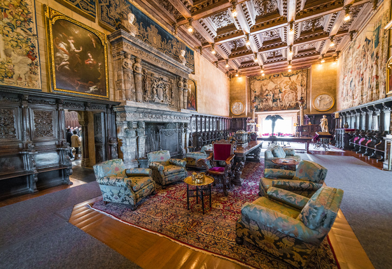 william-randolph-hearst-castle-interior-california