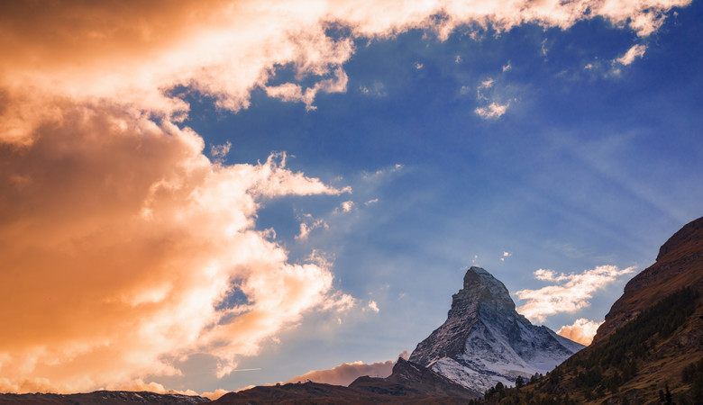 zermatt-matterhorn-sunset-switzerland