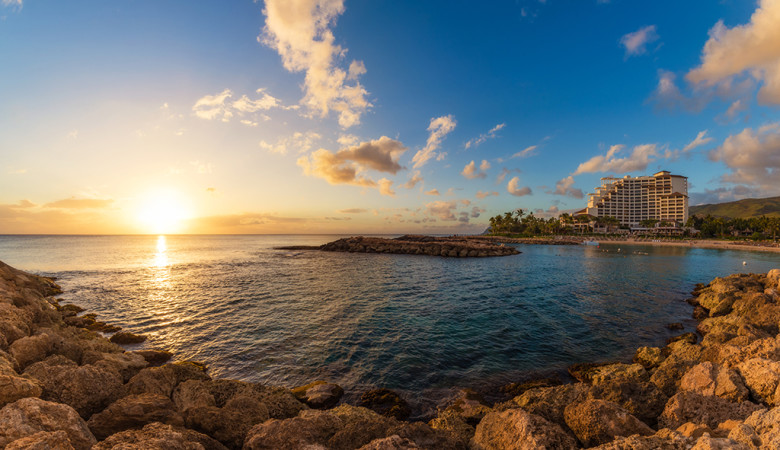four-seasons-ko-olina-oahu-hawaii-sunset