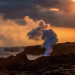 soft-sunset-lava-ocean-entry-kamokuna-viewing-hawaii-volcanoes-national-park-bricker copy