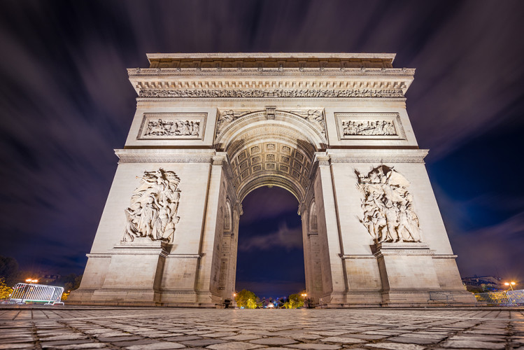 arc-de-triomphe-wide-blurred-clouds-paris-france