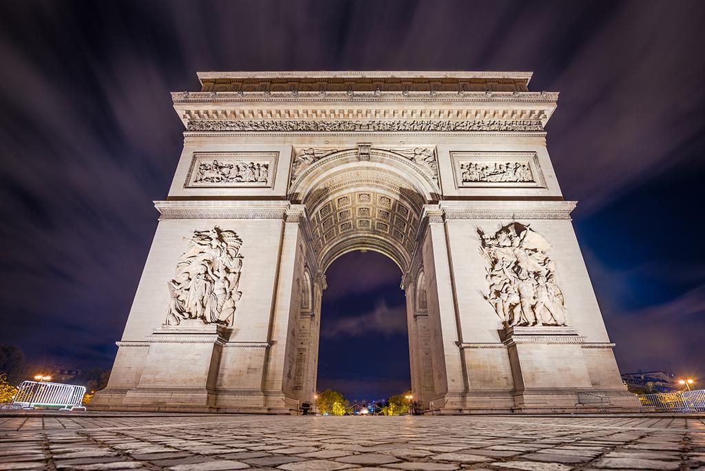 paris arc de triomphe - 1024×684