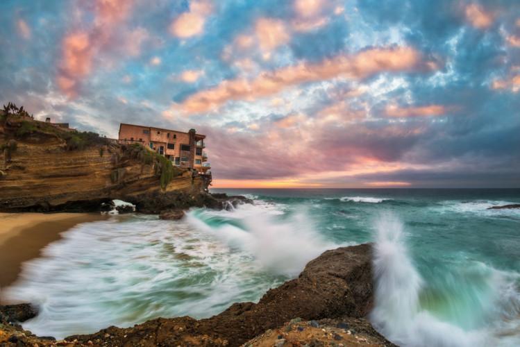 laguna-beach-table-rock-beach-sunset