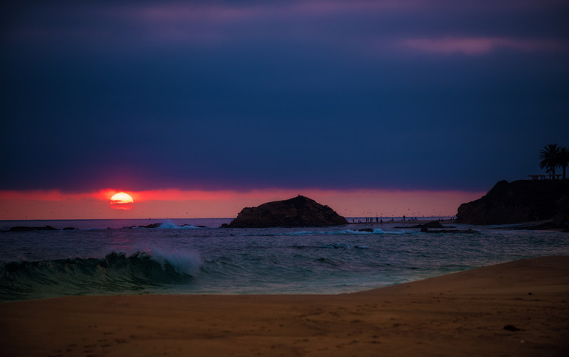 telephoto-sun-laguna-beach-sunset-bricker