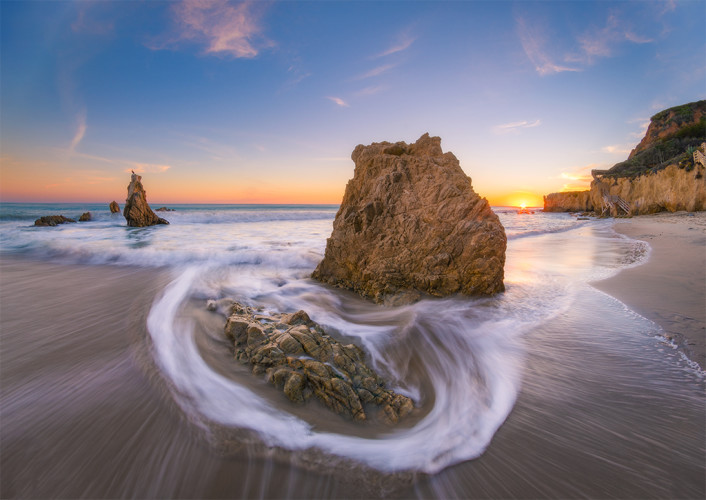 el-matador-state-beach-malibu-california-sunset-water-flow