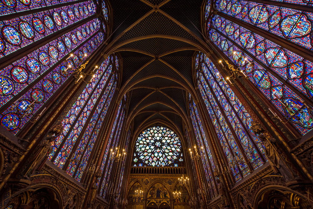 Church Paris Visit Stained Glass