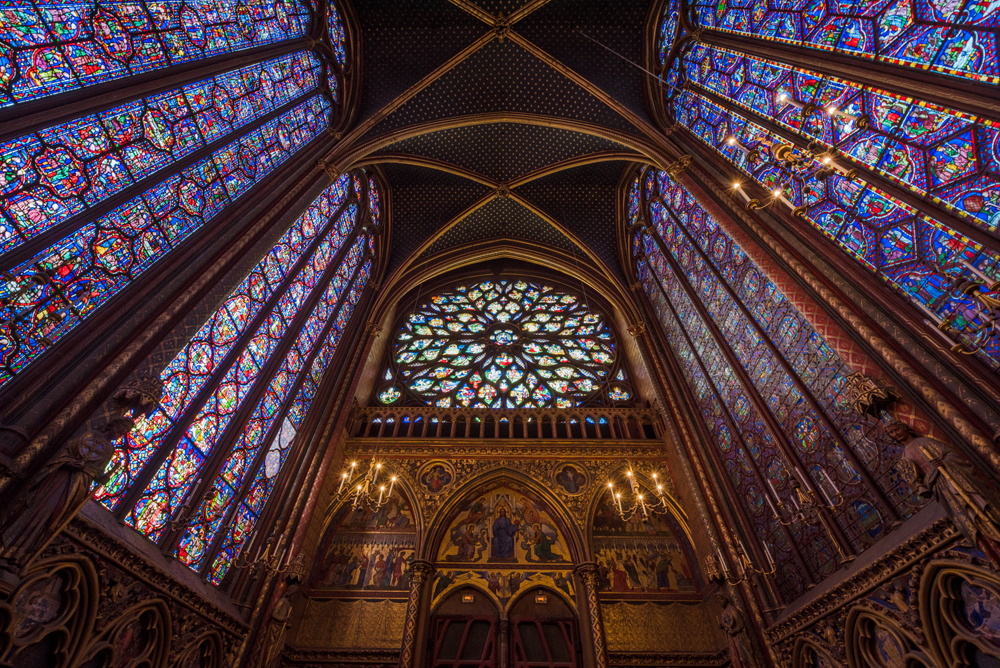 an introduction to the history and the architecture of sainte chapelle Jean-michel leniaud  a specialist of architecture and art of the 19th and 20th centuries,  1991: la sainte-chapelle,.