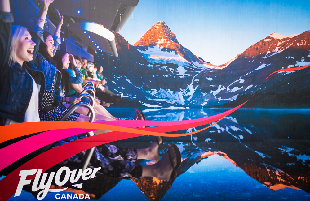 Flyover Canada Review Soarin Over The Great White North Travel Caffeine