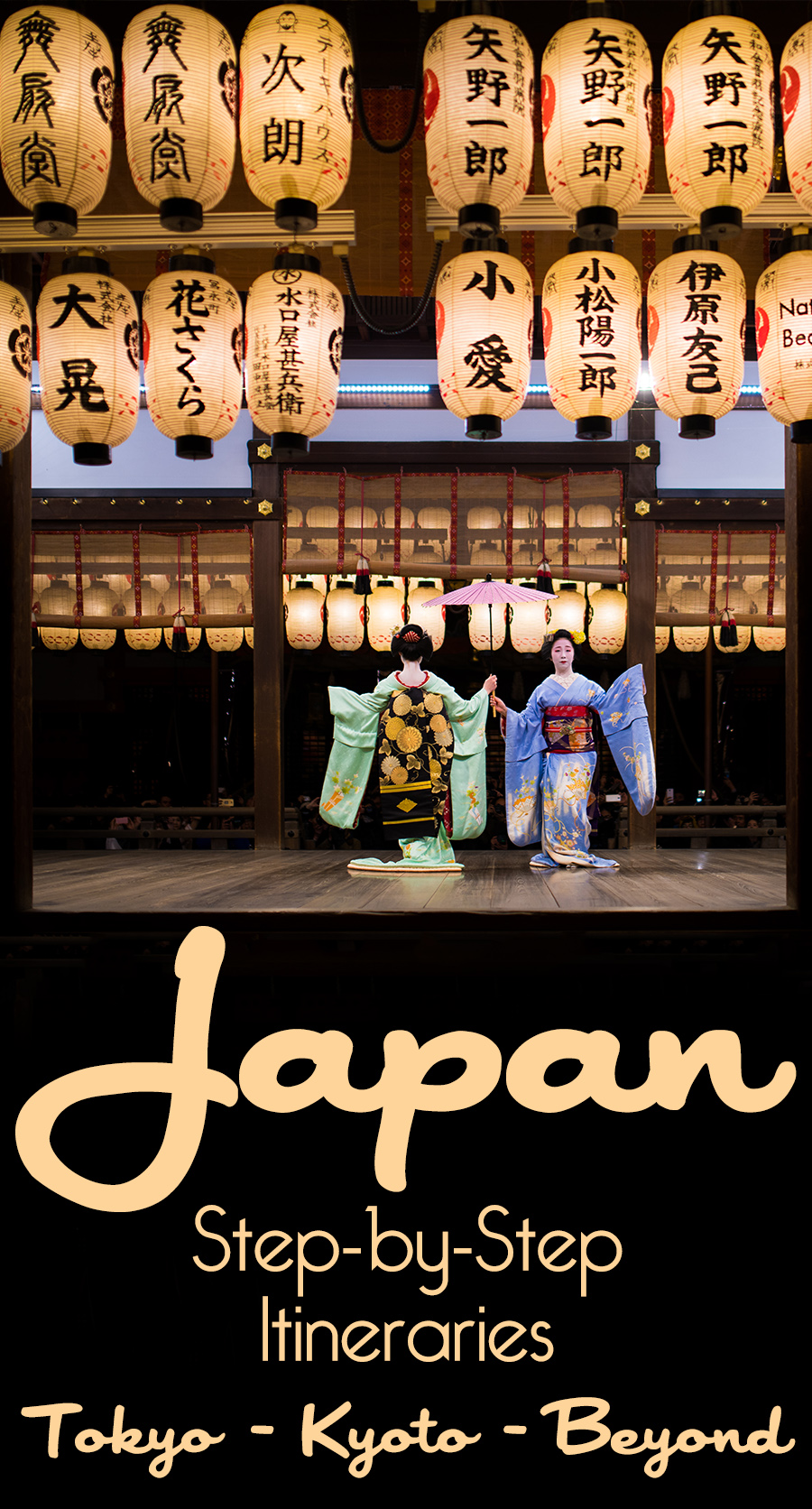 japan itineraries for kyoto tokyo and beyond travel caffeine